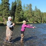 Fishing in the Kenai River!