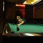 Nice pool table