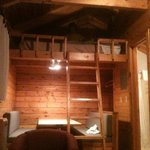 bunk above table in the Bunk House