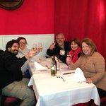 Com meus amigos argentinos de El Calafate!
