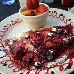 Berry Crepe