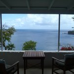 View from the porch of Barbados cottage