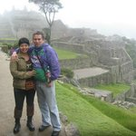 Jéssica y Dony en MachuPicchu