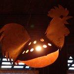 lampade a forma di gallo - non sono deliziose?