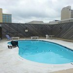 swimming pool being cleaned daily