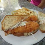 Lobster Reuben, don't miss it!!!