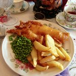 Their fabulous fish & chips!