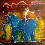 'Blue Elephant' by Bruce Sherratt (Founder of BCAC)
