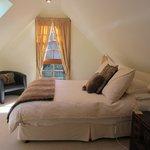 Loft suite bedroom