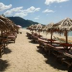 plage amenagée