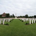 Cemetery in the Ypres area