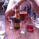 summer peach - $12 made 4 glasses