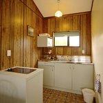 Mountain View studios' kitchen