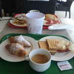 Esempio di colazione a buffet