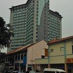 the Hotel as seen from Serangoon Road