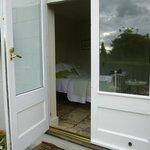 Entrance to Garden room