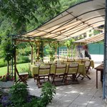 Fantastic patio for meals