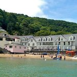 View of South Sands Hotel from water