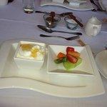 The wonderful muesli, fruit n yoghurt breakkie