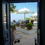 View through Eros front door