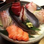 Sashimi selection - AMAZING