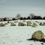 Ballynoe stone circle and outlier.