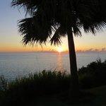 Sunset at Pompano Beach