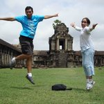 Angkor Smiles @Angkor Wat!