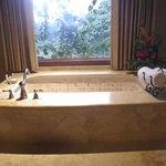 second bedroom tub