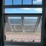 View through the velux window