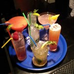 A selection of our cocktails