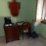 Desk with café maker room #6