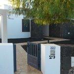 El exterior de la villa 5A