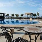 La piscine et terrasse