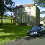 The house from the drive