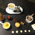 Café gourmand ..