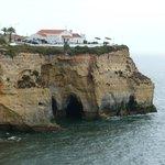 View from Carvoeiro beach