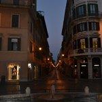 A view of Via Mario de' Fiori