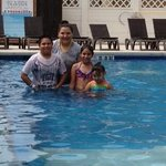 Kids loved the pool