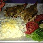 Este é um de nossos pratos da Promoção da Lagosta, Todas terças, quartas e quintas.