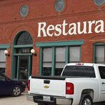 Stackhouse Restaurant at Thurber, Texas