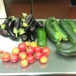 enfin avec 1 mois de retard les légumes  de l'AMAP