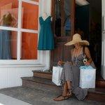 Shopping at Blue