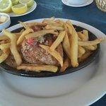 Pollo al coñac - Brisas del Mar