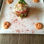 Crab and avacado appetizer (very yummy!)