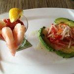 Shrimp appetizer (very good!)