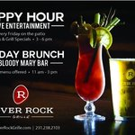 Happy Hour and Sunday Brunch