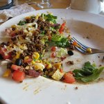 The taco salad is excellent - couldn't eat it all - boxed it and ate it later...still amazing co