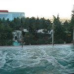 Co-Ed Infinity pool/hot-tub