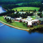 Aerial view of Sandy Cove Ministries